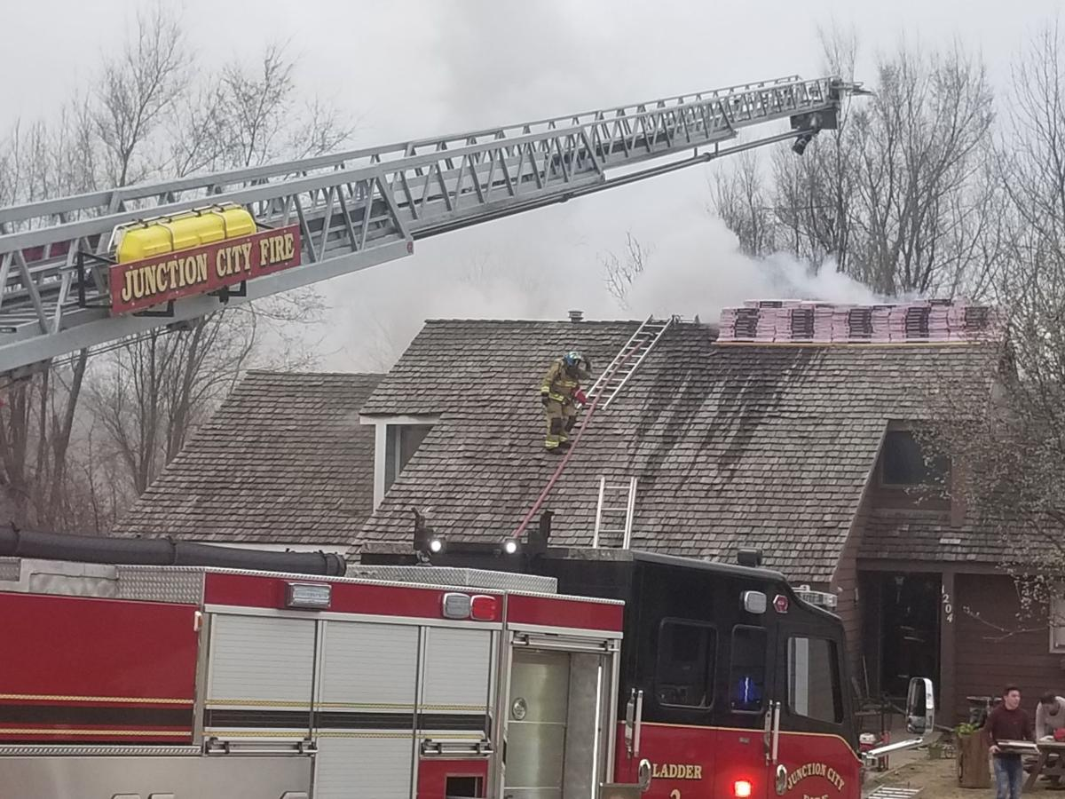 JCFD responds to structure fire on Bluestem Drive