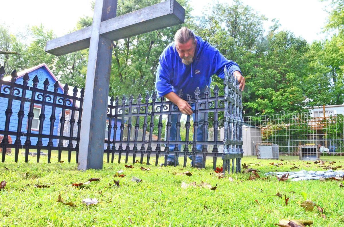 Haunted yard in Milford brings nearly 200 trick-or-treaters each ...