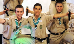 Spirited scouts