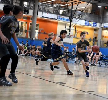 <p>The Pardes Jewish Day School Panthers' sixth-grade boys' basketball team takes on Rancho Solano. Pardes won the Jan. 10 game by a score of 40-23. The game was played at the Valley of the Sun JCC.</p>