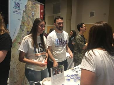 <p>At last year's What's What event, teens were able to learn about their options for traveling to Israel.</p>