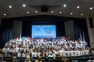 Valley teens, business mentor go to LA for Israeli American Council Eitanim Summer Hackathon