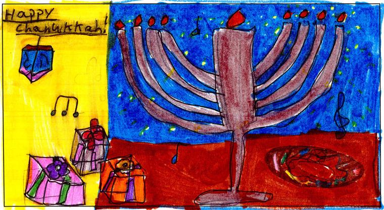 Rachel Milrad, age 8, Torah Day School of Phoenix