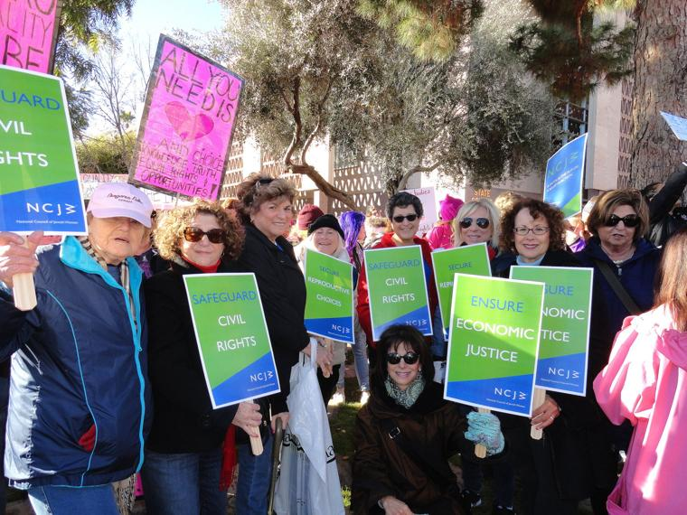 NCJW marches