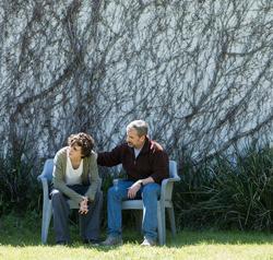 <p>Timothée Chalamet and Steve Carell as memoir authors Nic and David Sheff.</p>