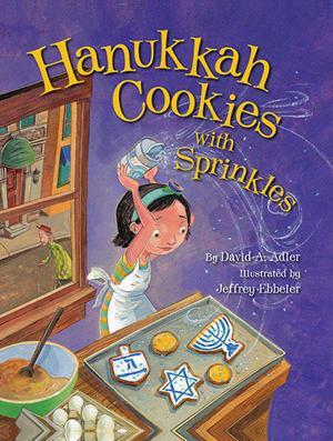 'Hanukkah Cookies with Sprinkles'