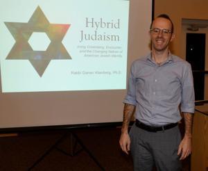 Rabbi returns