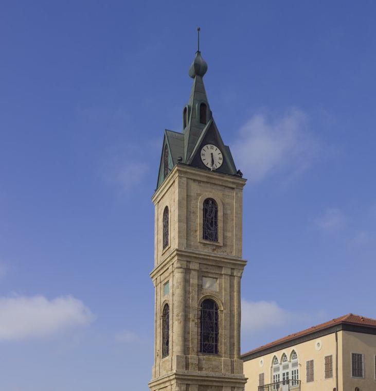 Jaffa's clock tower