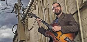 Jazz guitarist Jeff Libman