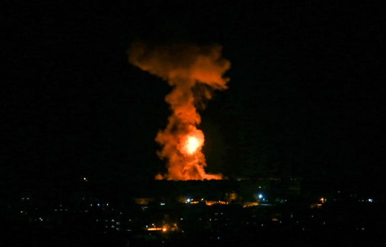Hamas 'raises the stakes' with mass rocket assault on Israel's south