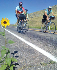 Biking for 'food justice'