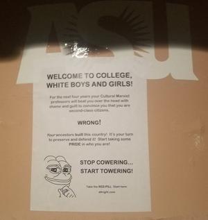 ASU hate flyers