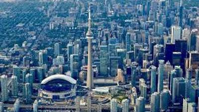 <p>Toronto skyline.</p>