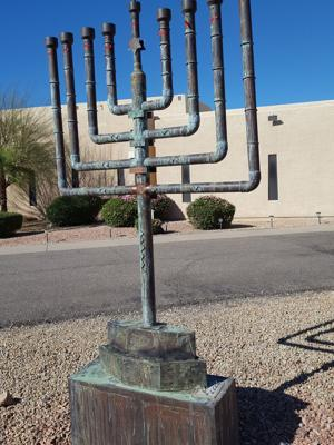 Restored Menorah