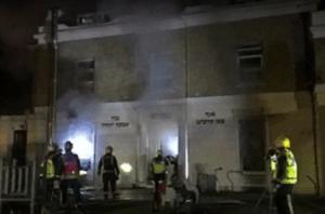 100 firefighters battle blaze at London Jewish school