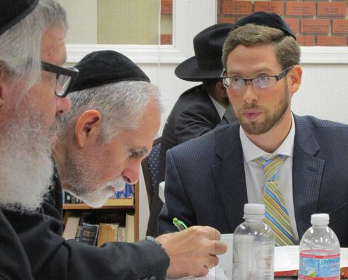 Studying with Rabbi Sholom Skolnik
