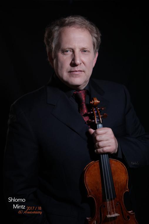 Violinist Shlomo Mintz