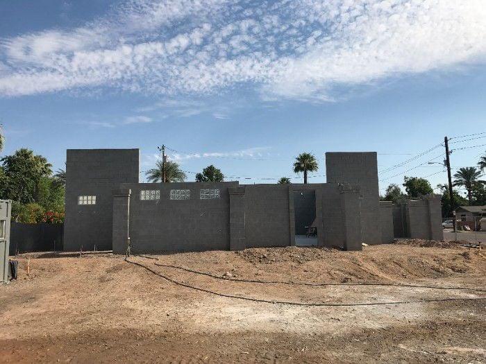 Mikvah walls