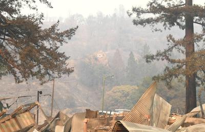 <p>A giant Star of David on the hill overlooking URJ Camp Newman in Santa Rosa, California, survived the fire that destroyed the majority of the camp's buildings.</p>