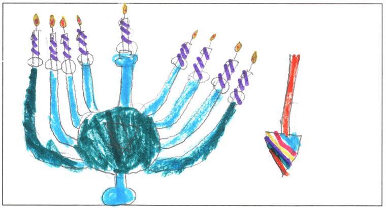 Cadence Arnold, age 7, Beth El Talmud Torah