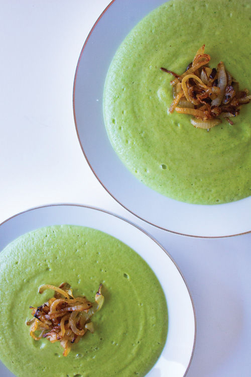 Broccoli and Parmesan Soup
