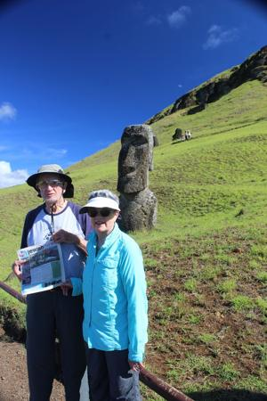 Where's your Jewish News? Easter Island