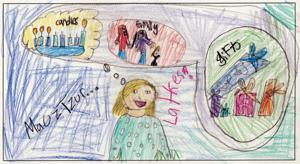 Hinda Gross, age 9, Cheder Lubavitch of Arizona