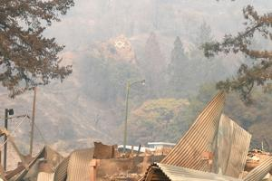 Camp Newman Wildfire