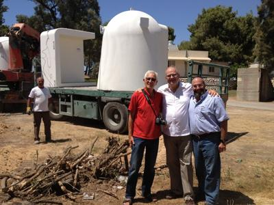 Mobile bomb shelter delivery