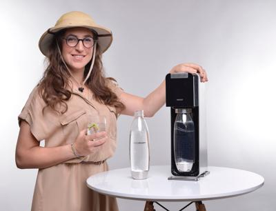 """<p>""""The Big Bang Theory"""" actress Mayim Bialik stars in the new """"Homoschlepiens"""" video campaign from SodaStream.</p>"""