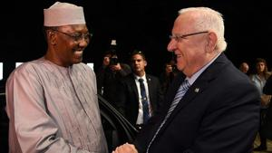 President of Chad makes historic, first visit to Israel