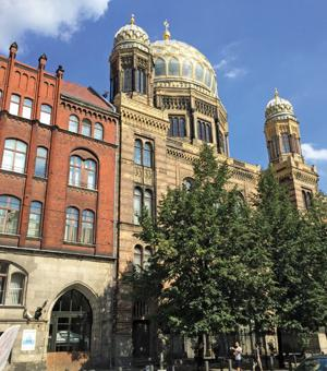 The New Synagogue in Berlin