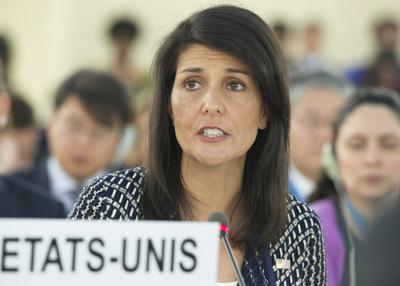 UN Nikki Haley