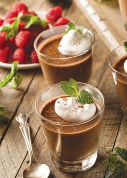 <p>Chocolate mousse</p>