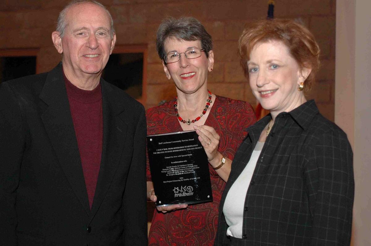 Founders honored at Women's Leadership Institute