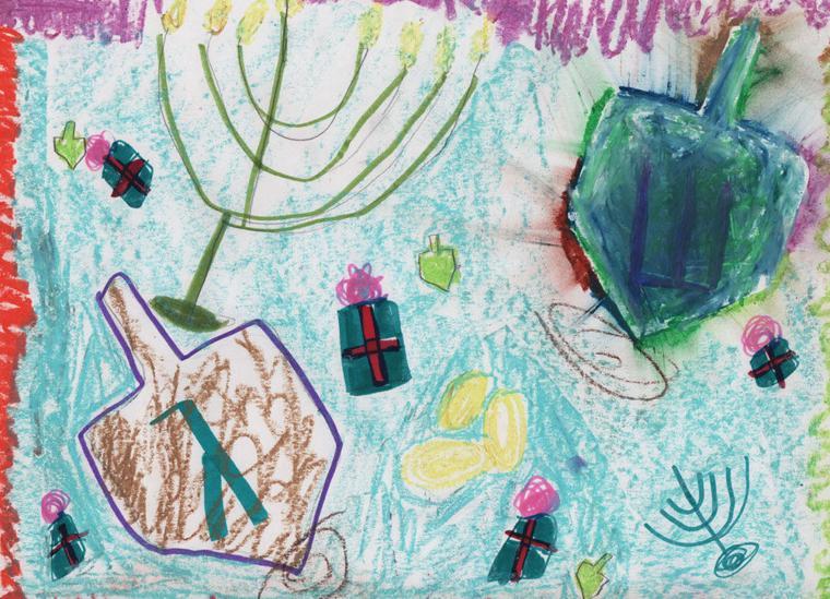 Noa Weill, age 8, Pardes Jewish Day School