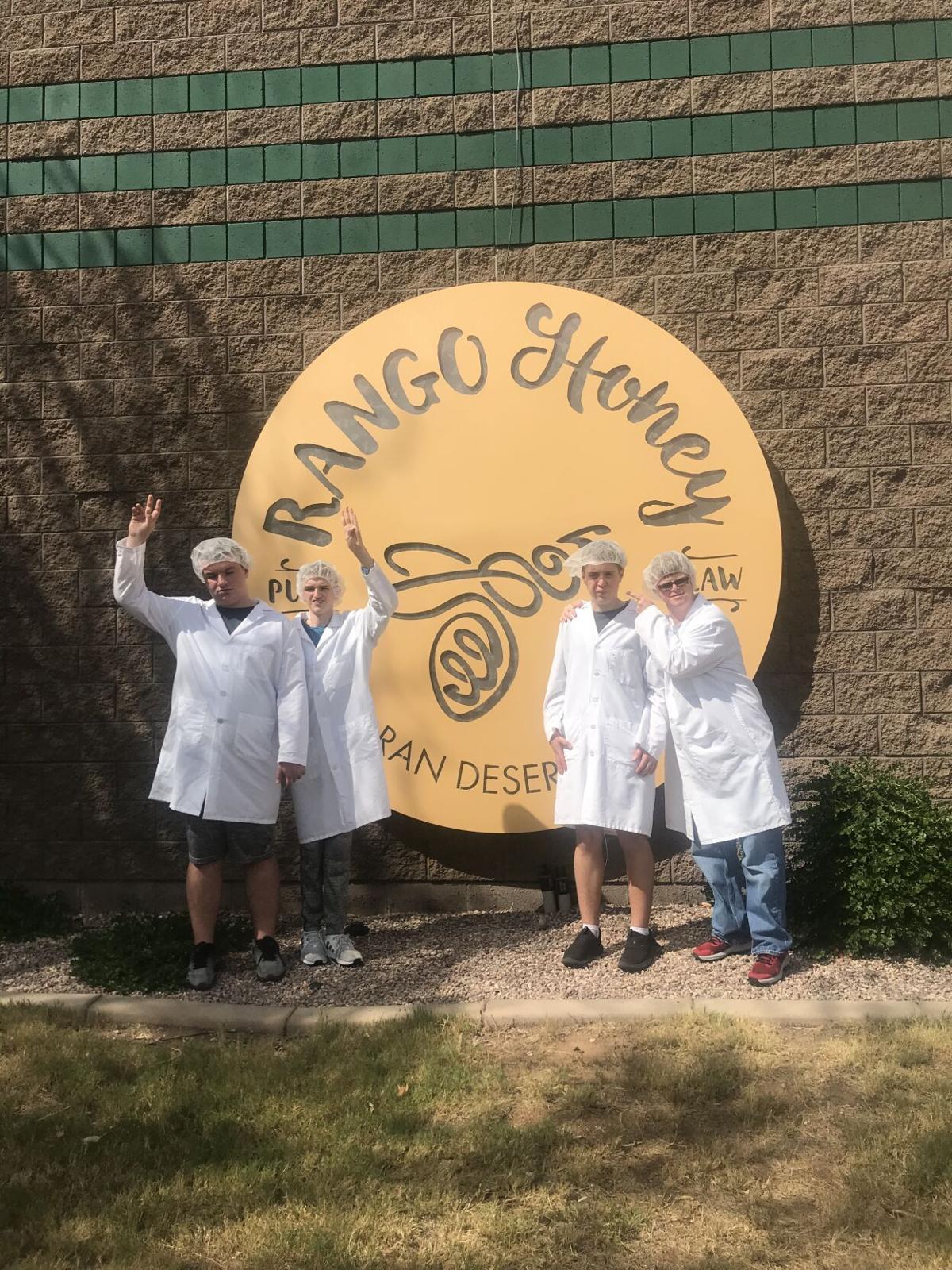 Honey group photo