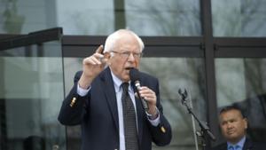 Bernie Sanders condemns IDF reaction to Gaza riots