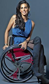 Women in wheelchairs 'push' boundaries