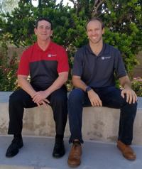 <p>Lee Lieberman, left, and Evan White are the co-presidents of Road to Home Mortgage.</p>