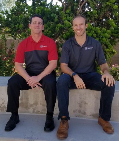 Lee Lieberman and Evan White