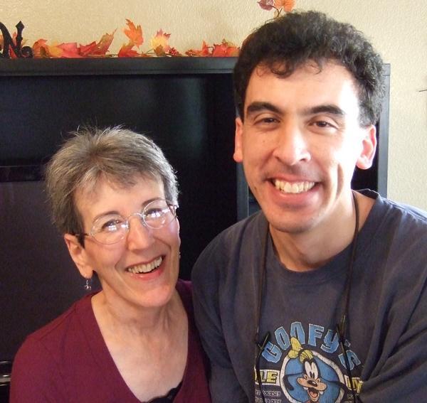 Becca Hornstein and her son, Joel