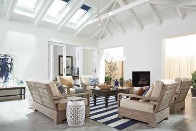 <p>Inexpensive rugs, pillows, accessories and more natural light can brighten up the dingiest living room.</p>