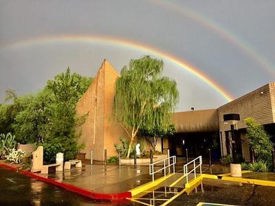 Temple Solel rainbow