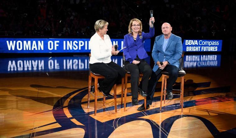 Mercury honors Gabby Giffords