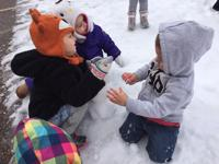 "<p>Youngsters enjoy a ""snow day"" at the East Valley JCC's Camp Rimon winter camp.</p>"