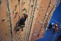 <p>Rock climbing can build a child's self-esteem by promoting problem-solving and communication.</p>