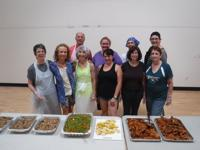 <p>Members of the Sisterhood of Temple Beth Sholom of the East Valley participate in Ladles of Love. Through the program, volunteers prepare kosher meals at the East Valley JCC and then deliver the meals to individuals in need.</p>
