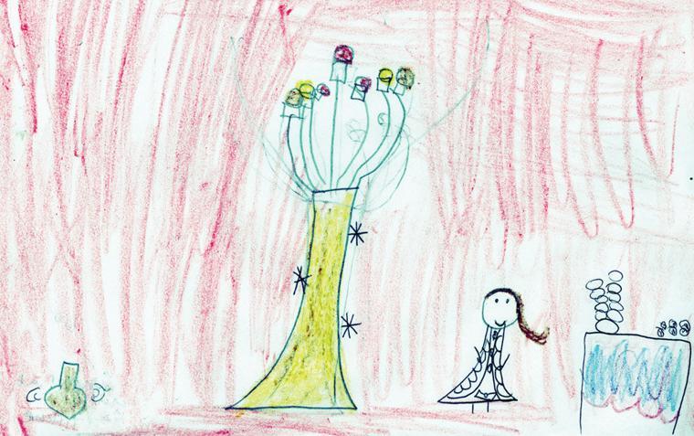 Emunah Feld, age 6, Phoenix Hebrew Academy