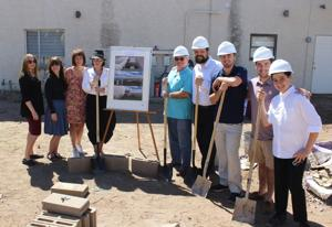 Chabad at ASU groundbreaking